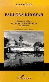 Parlons Khowar - Intérieur - Format classique