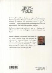Le Berloquin des jeux de table ; toutes les règles illustrées - 4ème de couverture - Format classique