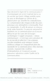 Les ruses de la communication - 4ème de couverture - Format classique