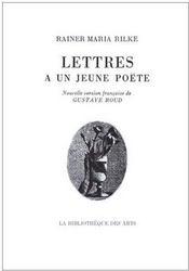 Lettres à un jeune poëte - Couverture - Format classique