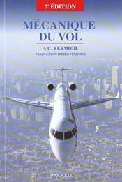Mecanique Du Vol 2e Ed - Intérieur - Format classique