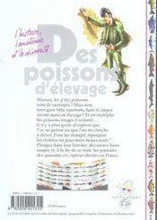 Des Poissons D'Elevage - 4ème de couverture - Format classique
