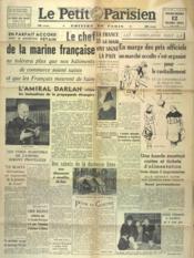 Petit Parisien Edition De Paris (Le) du 12/03/1941 - Couverture - Format classique