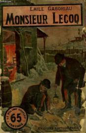 Monsieur Lecoq. Collection Le Livre Populaire N° 34. - Couverture - Format classique