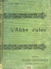 L'Abbe Jules. - Couverture - Format classique