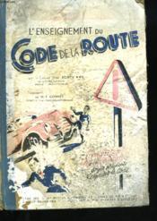 L'Enseignement Du Code D Ela Route - Couverture - Format classique