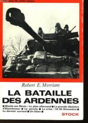 La Bataille Des Ardennes - Couverture - Format classique