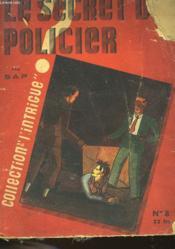Le Secret Policier - N°8 - Couverture - Format classique