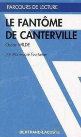 Le fantome de canterville d'oscar wilde - Couverture - Format classique
