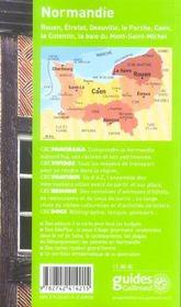 Geoguide ; Normandie (édition 2005/2006) - 4ème de couverture - Format classique