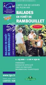 Balades en forêt de Rambouillet - Couverture - Format classique