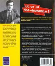 Ou Va La Net-Economie - 4ème de couverture - Format classique
