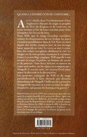 Le langage des pierres t.2 ; la danse du geant - 4ème de couverture - Format classique