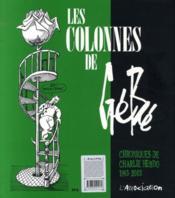 Les colonnes de Gébé (1993-2003) - Couverture - Format classique