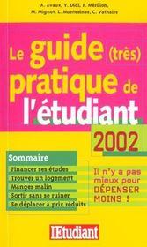 Le Guide Tres Pratique De L'Etudiant - Intérieur - Format classique
