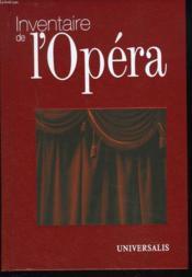 Inventaire de l'opera - Couverture - Format classique