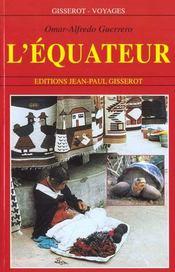 L'Equateur - Intérieur - Format classique