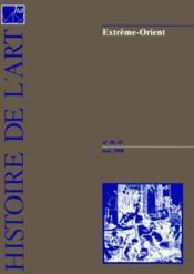 Histoire de l'art n.40 et n.41 1998 extreme orient - Couverture - Format classique