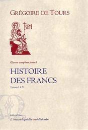 Histoire des francs t1 - Intérieur - Format classique