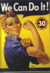 We Can Do It! 30 Inspirational Postcards For Hard Times /Anglais - Couverture - Format classique