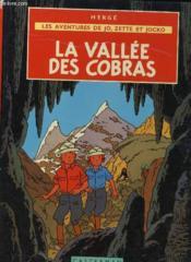 Les Aventures Dejo, Zette Et Jocko - La Valee Des Cobras - Couverture - Format classique