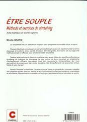 Etre Souple - Meth Et Exo Stretch Am - 4ème de couverture - Format classique