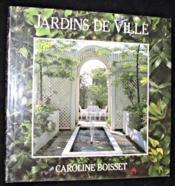 Jardins de ville - Couverture - Format classique