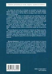 Le Catholicisme - 4ème de couverture - Format classique