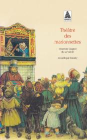 Theatre des marionnettes - Couverture - Format classique