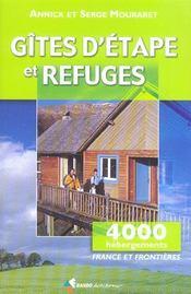 Gites d'etape et refuges,4000 hebergements - Intérieur - Format classique
