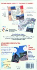 Autour Des Villes D'Eauxcircuits De Week-End A Vtt - 4ème de couverture - Format classique