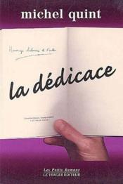 La Dedicace - Couverture - Format classique