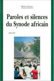 Paroles et silences du synode africain - Couverture - Format classique