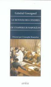 Retour Des Cendres De L'Empereur Napoleon (Le) - Intérieur - Format classique