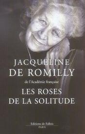Les roses de la solitude - Intérieur - Format classique