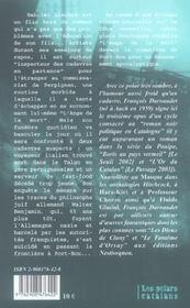 Le Dernier Talgo A Port Bou - 4ème de couverture - Format classique