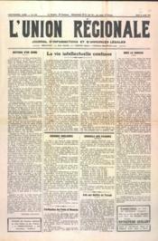 Union Regionale (L') N°1124 du 14/03/1940 - Couverture - Format classique