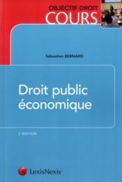 Droit public économique (2e édition) - Couverture - Format classique