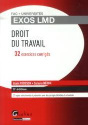 Exos LMD ; droit du travail (3e édition) - Couverture - Format classique