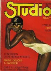 Studio - Le Magazine Du Plaisir N°5 Du Volume 1 - Confession D'Un Hermaphrodite - Mains Douces A Bangkok - Gare A La Mateuse. - Couverture - Format classique