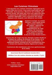 Un tour gastronomique de la Chine ; 88 recettes des cuisines régionales (2e édition) - 4ème de couverture - Format classique