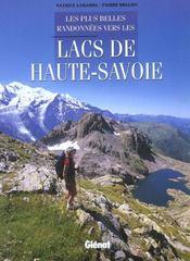 Les plus belles randonnées vers les lacs de haute-Savoie - Intérieur - Format classique