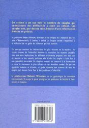 L'Infertilite - 4ème de couverture - Format classique