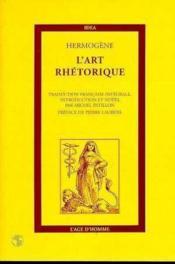 Art Rhetorique (L') - Couverture - Format classique