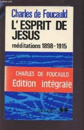 L'Esprit De Jesus - Couverture - Format classique