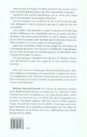 Mémoires d'un ténor égyptien - 4ème de couverture - Format classique