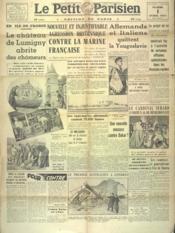 Petit Parisien Edition De Paris (Le) du 01/04/1941 - Couverture - Format classique