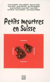 Petits meutres en Suisse - Couverture - Format classique