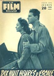 Film Complet N° 529 - Dis Huit Heures D'Escale - Couverture - Format classique