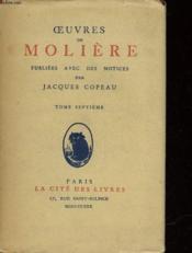 Oeuvres De Moliere - 8 Tomes - Couverture - Format classique